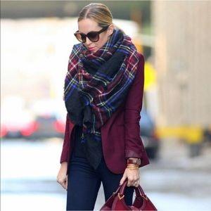 The Original Zara Tartan blanket scarf